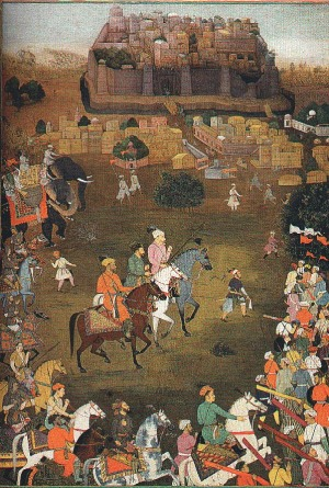 The capture of Orchha by imperial forces led by Aurangzeb (October 1635)